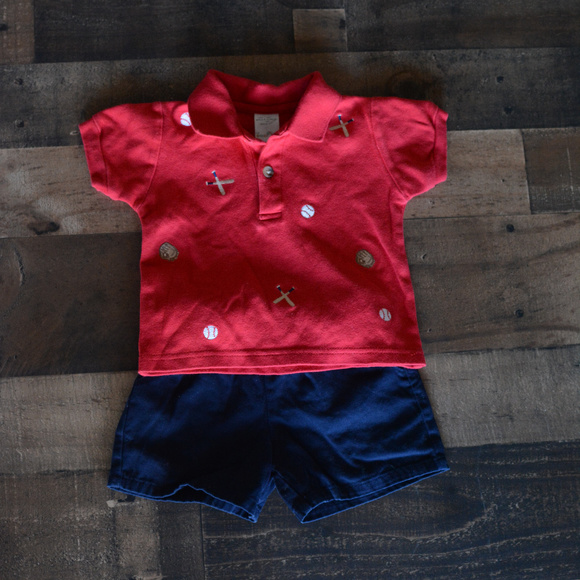 00d85ffd2 Wendy Bellissimo Matching Sets | Bundle Baby Boys Shorts 12 Ms ...